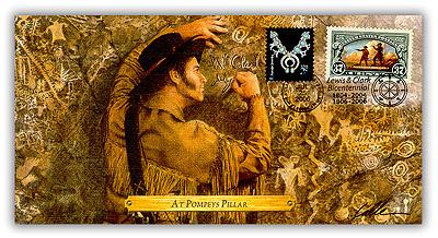 2006 Lewis & Clark 'At Pompey's Pillar' Commemoraitve Cover