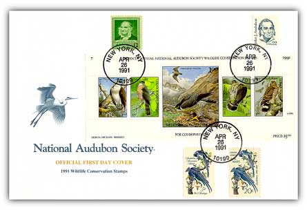 1991 Audubon Presentation Cvr w/Titlecrd