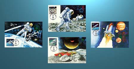 1989 45c Future Mail Maxicard Set
