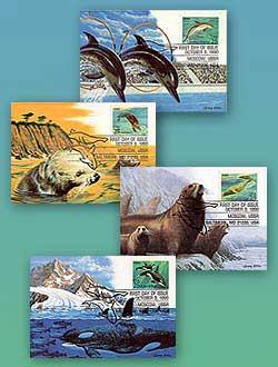1990 25c Sea Creatures