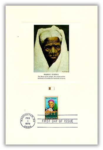 1978 13c Black Heritage: Harriet Tubman