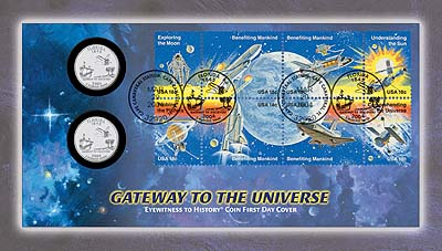 2004 Gateway to the Universe Coin Cover