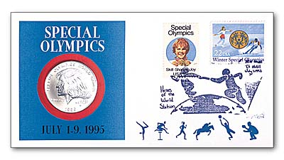 1995 Special Olympics Coin Cover