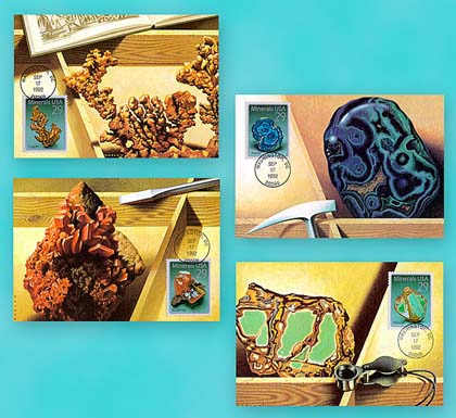 1995 1992 Minerals Maximum Card Set/4