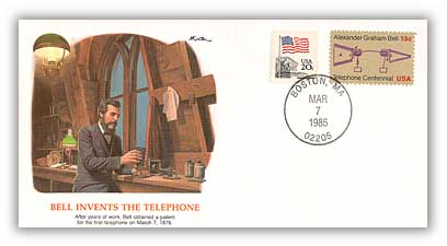 1985 Epic Events in American History - Bell Invents Telephone Deluxe Cover