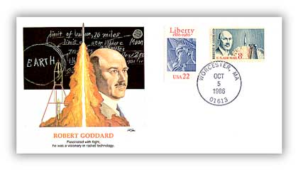 1986 Robert Goddard/Shapers of Am. Liberty
