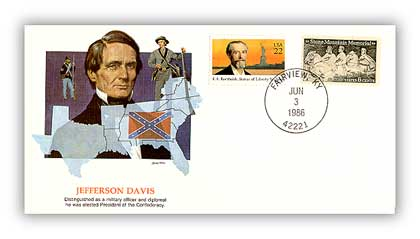 1986 Jefferson Davis/Shapers of Am. Liberty