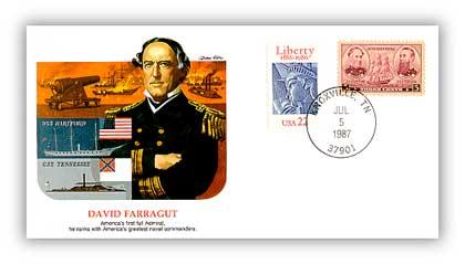 1987 David Farragut/Shapers of Am. Liberty