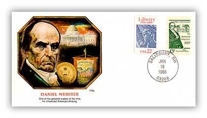 1988 Daniel Webster Cover