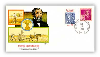 1988 Cyrus MCCormick Cover