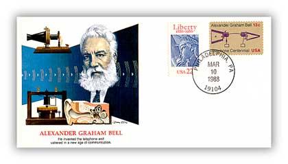 1988 Alexander Graham Bell Cover