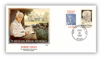 1988 Robert Frost Cover