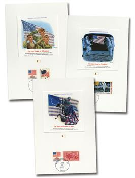 1977 Old Glory's Proudest Moments/12 Proof cards
