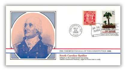 1988 South Carolina Ratifies the Constitution