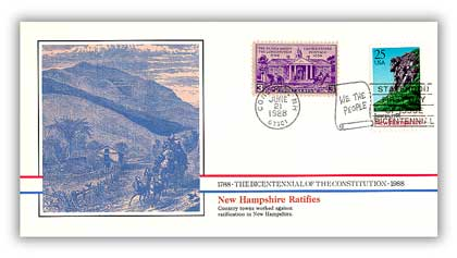 1988 New Hampshire Ratifies the Constitution