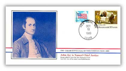 1989 John Jay Supreme Court Chief Justice