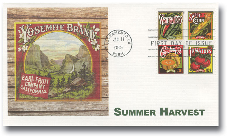 2015 First-Class Forever Stamp - Summer Harvest