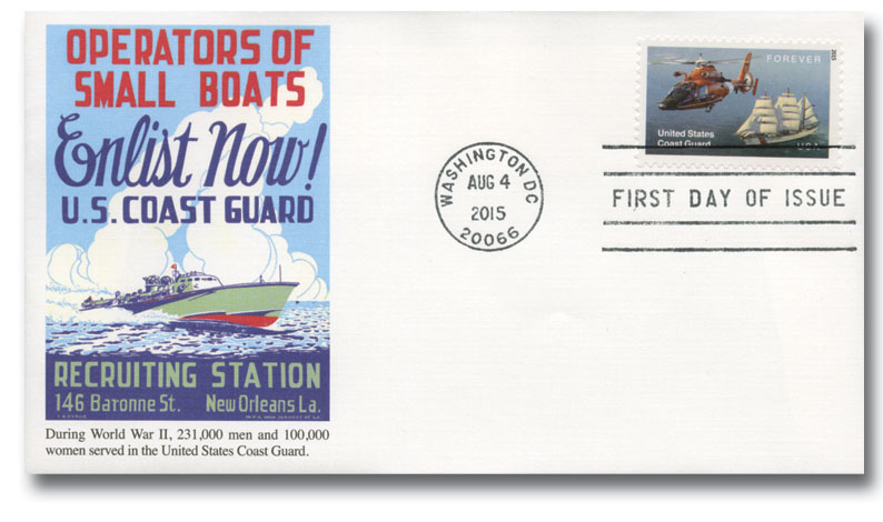 2015 First-Class Forever Stamp - United States Coast Guard