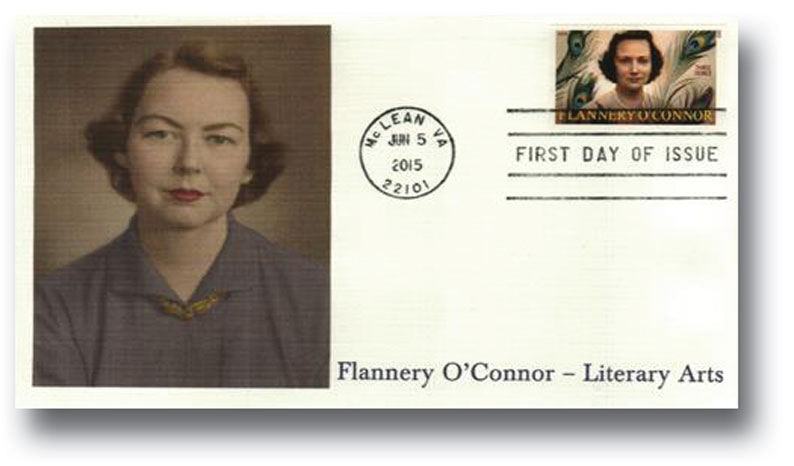 2015 93c Imperf Flannery O'Connor