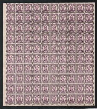 1925 3c Lincoln, violet