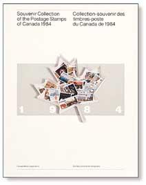 1985 Book -- Canada Souvenir Collections 1984