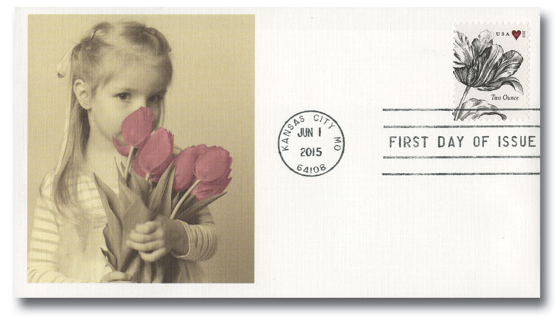 2015 71c Wedding Series: Vintage Tulip
