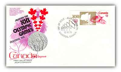 1976 $2 Olympics Velodrome