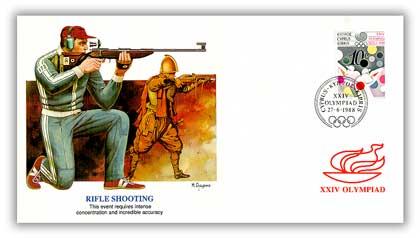 1988 Cyprus Olympics 'Rifle Shooting'
