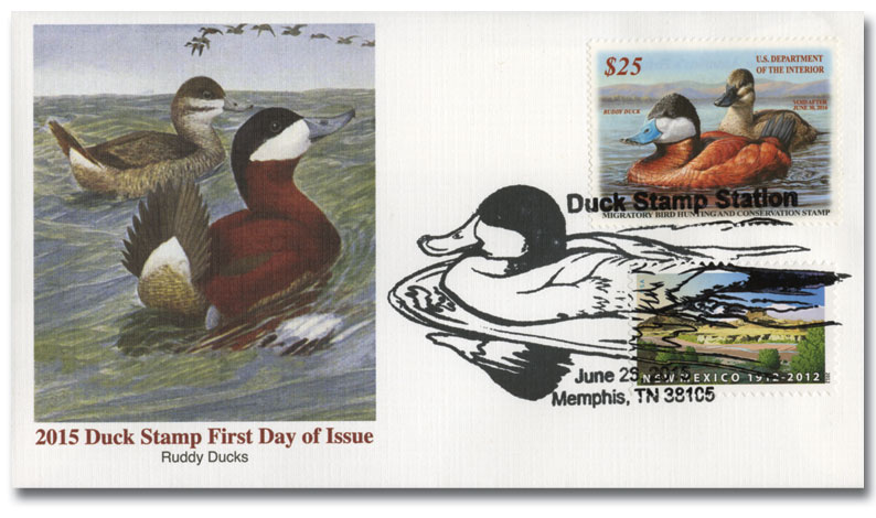 2015 $25 Ruddy Ducks Hunting Permit