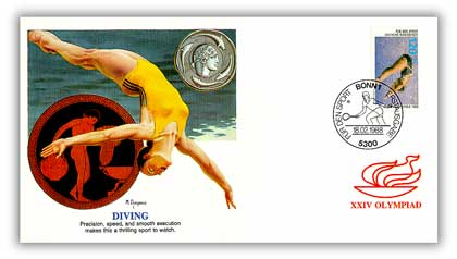 1988 West Germany 'Olympics' Diving