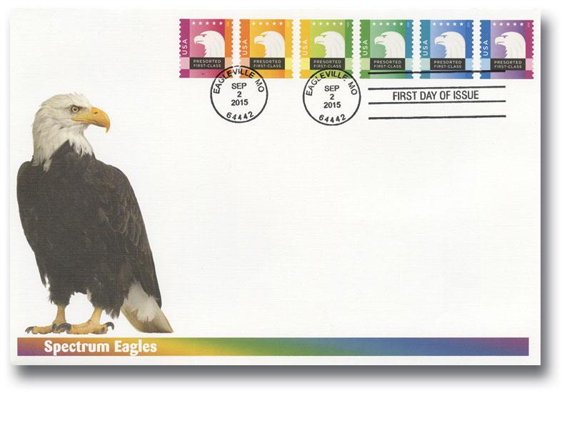 2015 25c Spectrum Eagles