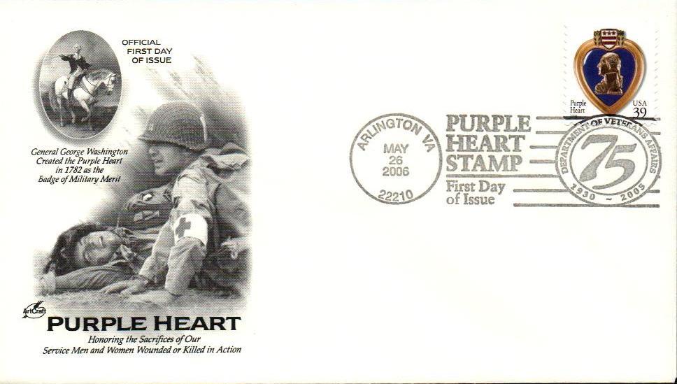2006 39c Purple Heart