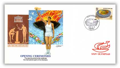 1988 Korea Olympics 'Opening Ceremonies'