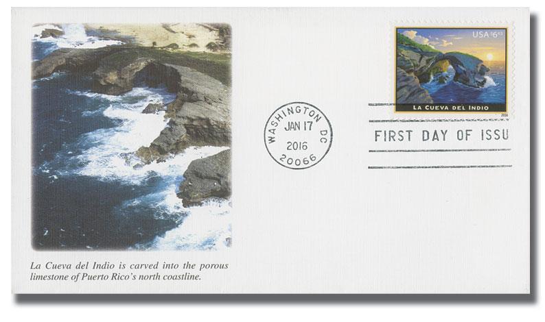 2016 $6.45 La Cueva del Indio, Priority Mail