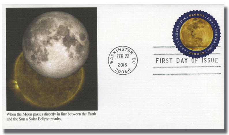 2016 Global Forever Stamp - The Moon