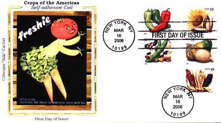 2006 39c Crops of America, coil