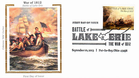 U.S. #4805 FDC – Battle of Lake Erie First Day Cover with silk cachet.