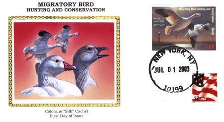 2003 $15.00 Snow Geese