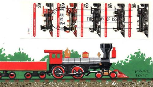 1994 29c Locomotives