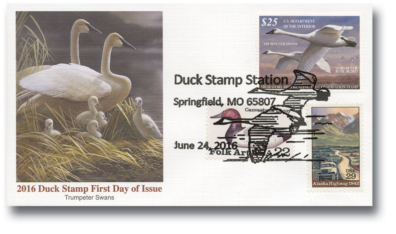 2016 $25 Trumpeter Swans Hunting Permit
