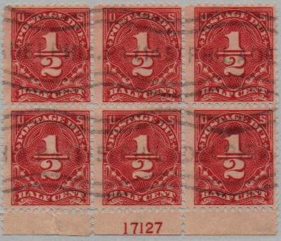 1925 1 2c Postage Due Dull Red For Sale At Mystic Stamp Company