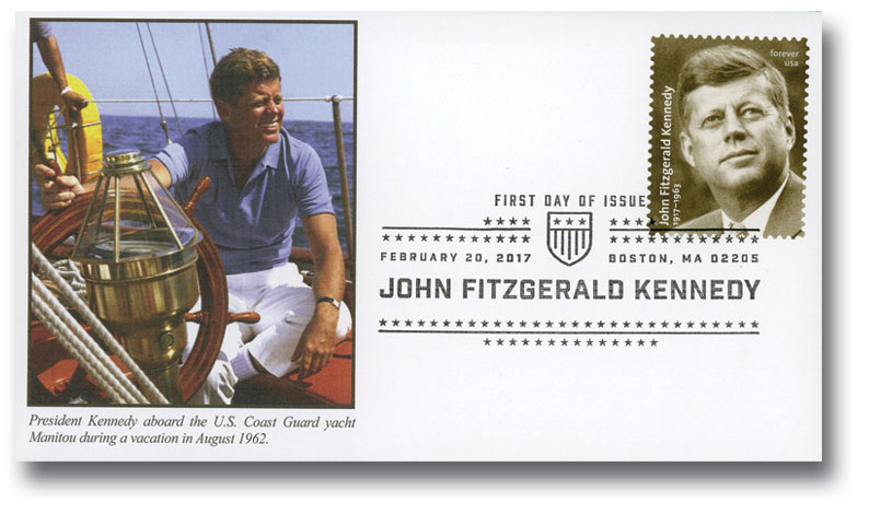 2017 First-Class Forever Stamp - President John Fitzgerald Kennedy (1917-1963)
