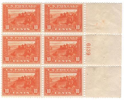 1913 10c San Francisco Bay