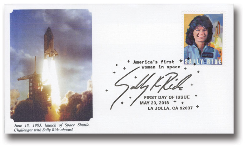 2018 First-Class Forever Stamp - Sally Ride