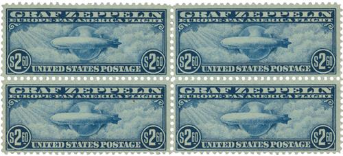 1930 $2.60 Graf Zeppelin blue