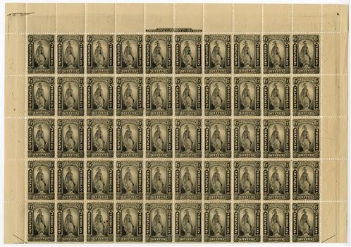 1879 6c blk, soft paper