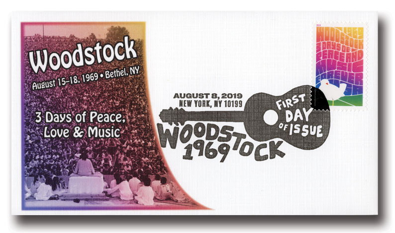 2019 First-Class Forever Stamp - Woodstock