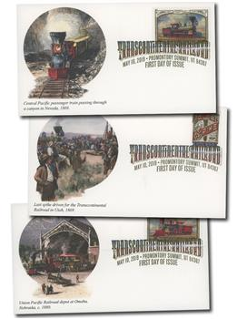 2019 First-Class Forever Stamp - Transcontinental Railroad