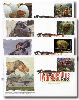 2019 First-Class Forever Stamps - Tyrannosaurus Rex
